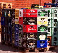 caisses de boissons consignes - Caisse Biere Plastique